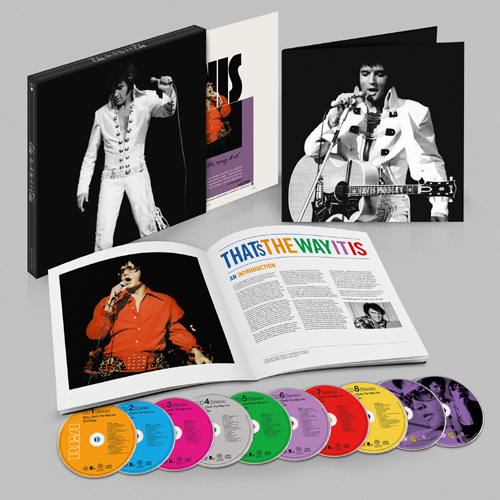 Elvis: That's The Way It Is - Legacy Deluxe Box Set (8CD+2DVD)