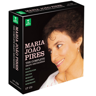 Produktbilde for Maria Joao Pires - The Complete Erato Recordings (17CD)