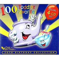 100 Toddler Favorites (CD)