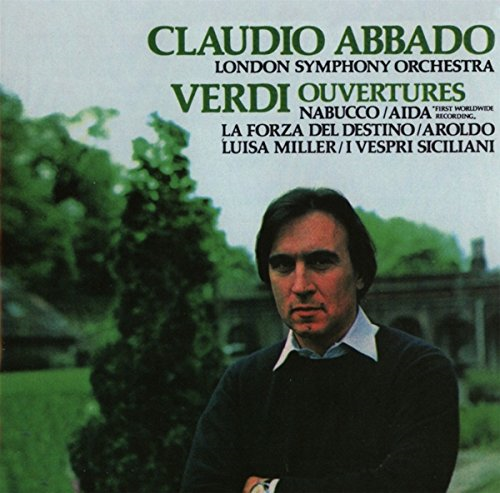 Verdi: Overture (Remastered) (CD)