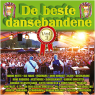 Produktbilde for De Beste Dansebandene Vol. 3 (2CD)