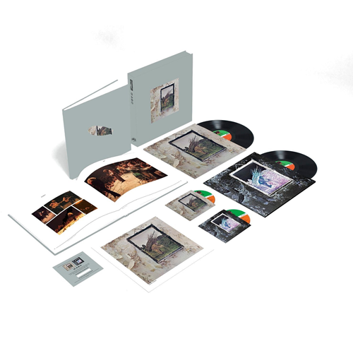 Led Zeppelin IV - Super Deluxe Edition Box (2CD + 2LP + Bok)