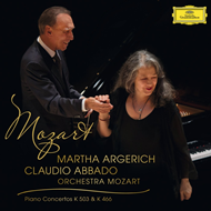Mozart: Piano Concerto No.25 In C Major K.503; Piano Concerto No.20 In D Minor K.466 (CD)