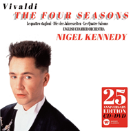 Nigel Kennedy - Vivaldi: The Four Seasons 25th Anniversary Edition (m/DVD) (CD)