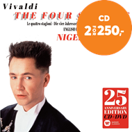Produktbilde for Nigel Kennedy - Vivaldi: The Four Seasons 25th Anniversary Edition (m/DVD) (CD)