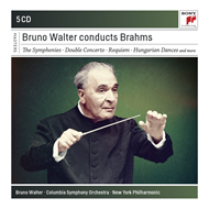 Bruno Walter - Conducts Brahms (5CD)