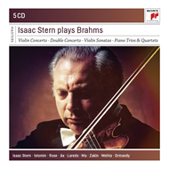 Produktbilde for Isaac Stern - Plays Brahms (5CD)