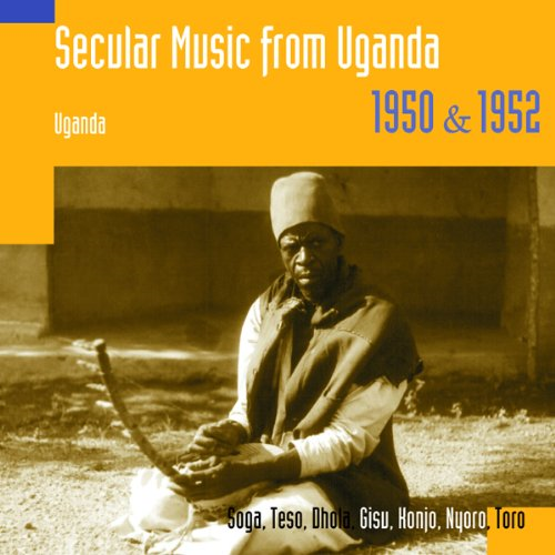 Secular Music From Uganda 1950 & 1952 (CD)