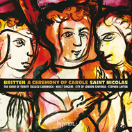 Britten: A Ceremony Of Carols & St. Nicolas (CD)