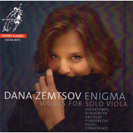 Dana Zemtsov - Enigma: Works For Solo Viola (CD)