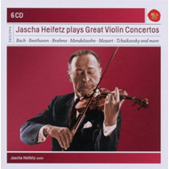 Jascha Heifetz - Plays Great Violin Concertos (6CD)
