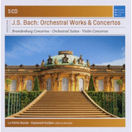 Produktbilde for Bach, J.S: Orchestral Works And Concertos (5CD)