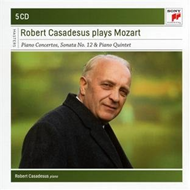 Produktbilde for Robert Casadesus - Plays Mozart (5CD)