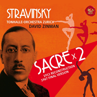 Stravinsky: Le Sacre Du Printemps - Original Version 1913 & Revised Version 1967 (2CD)