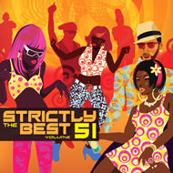 Produktbilde for Strictly The Best Vol. 51 (UK-import) (2CD)