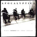 Produktbilde for Apocalyptica Plays Metallica By Four Cellos (USA-import) (CD)