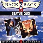 Never Too Late/Back To Back (CD)