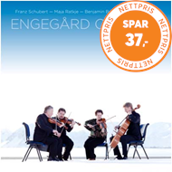 Produktbilde for Engegård Quartet - String Quartets Vol 4: Schubert, Ratkje, Britten, Haydn (SACD-Hybrid + Pure Audio Blu-ray)