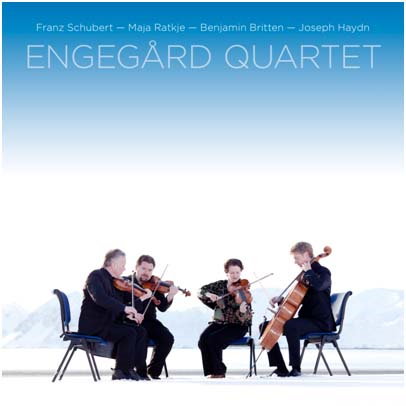 Engegård Quartet - String Quartets Vol 4: Schubert, Ratkje, Britten, Haydn (SACD + Pure Blu-ray Audio)