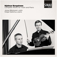Borgstrøm: Compete Works For Violin And Piano (CD)