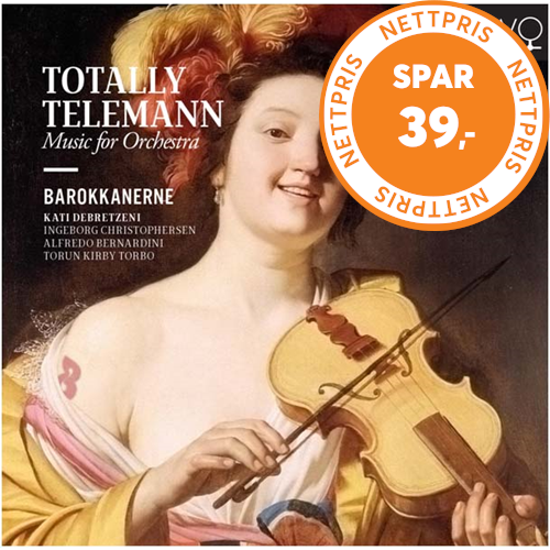 Totally Telemann Music For Orchestra (CD)