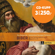 Produktbilde for Biber: Missa Salisburgensis & Requiem A 15 (2CD)