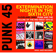 Punk 45: Extermination Nights In The Sixth City - Cleveland, Ohio: Punk And Decline Of The Mid-West (CD)