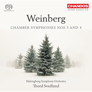Weinberg: Chamber Symphonies Nos 3 And 4 (SACD-Hybrid)
