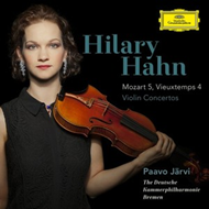 Hilary Hahn - Mozart: Violin Concerto No.5 In A, K.219 / Vieuxtemps: Violin Concerto No.4 In D Minor (CD)