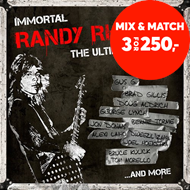Produktbilde for Immortal Randy Rhoads - The Complete Tribute: Deluxe Edition (m/DVD) (CD)