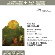 Handel: Messiah (2CD+Pure Audio Blu-ray)