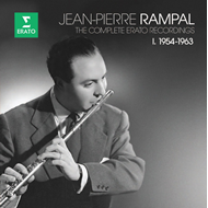 Jean-Pierre Rampal - The Complete Erato Recordings Vol. 1: 1954-1963 (10CD)