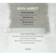 Keith Jarrett - Barber & Bartok Piano Concertos (CD)