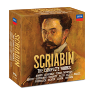 Scriabin: The Complete Works (Edition) (18CD)