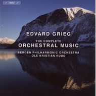 Produktbilde for Grieg: The Complete Orchestral Music (8CD)
