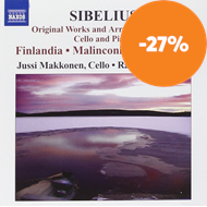 Produktbilde for Sibelius: Original Works And Arrangements For Cello And Piano (CD)