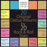 20 Original Debut-Albums By 20 Rock & Roll Stars (10CD)