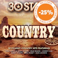 Produktbilde for 30 Stars - Country (2CD)