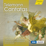 Telemann: Cantatas: Easter, Ascension & Pentecost (CD)