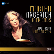 Martha Argerich & Friends - Live From Lugano 2014 (3CD)