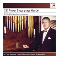 E. Power Biggs Plays Handel (4CD)