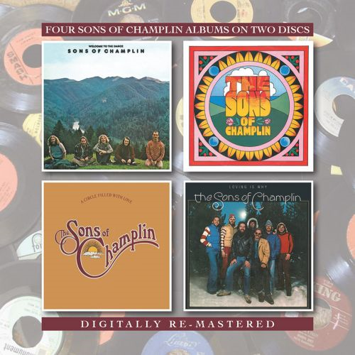 Welcome To The Dance/The Sons Of Champlin/A Circle Filled With Love/Loving Is Why (2CD Remastered)