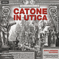 Vinci: Catone In Utica (3CD)