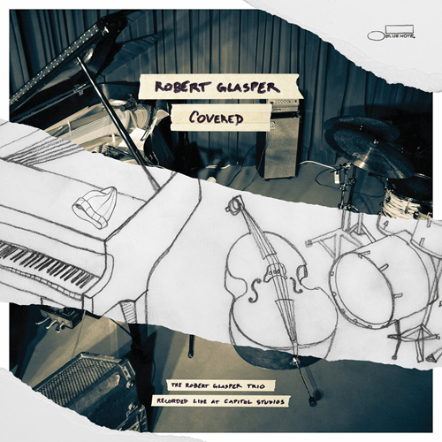 Covered (The Robert Glasper Trio Recorded Live At Capitol Studios) (CD)
