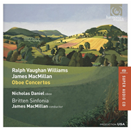 Produktbilde for Vaughan Williams / MacMillan: Oboe Concerts (SACD-Hybrid)