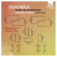 Reich: Music For 18 Musicians (CD)