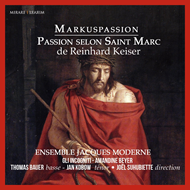 Keiser: Markuspassion - The Passion according to St Mark (CD)