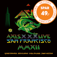 Produktbilde for Axis XXX Live In San Francisco (2CD+DVD)