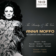 Anna Moffo - The Beauty & The Voice: The Complete Early Performances (10CD)