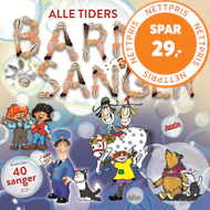 Produktbilde for Alle Tiders Barnesanger (2CD)